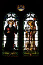 Free Stained-glass Window In A Church In Rome Stock Photo - 5792870