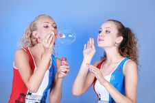 Free Soap Bubbles Royalty Free Stock Photography - 5790307