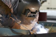 Free Welding Close Royalty Free Stock Photography - 5791127