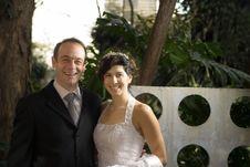 Free Newly Weds Smiling - Horizontal Stock Photo - 5791280