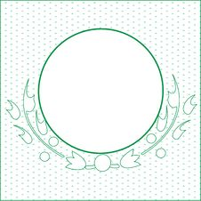 Free Green Circle Stock Image - 5791391