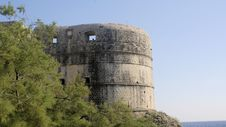 Free Bastion Bokar In Dubrovnik Royalty Free Stock Image - 5791706