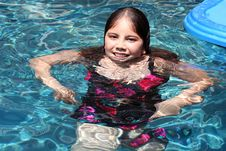 Free A Smiling Girl (12) In Swimming Pool Stock Photos - 5791733