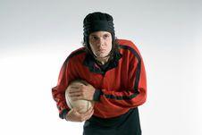 Free Man Playing Rugby - Horizontal Royalty Free Stock Image - 5791756