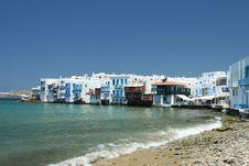 Free Little Greek Venice Royalty Free Stock Photos - 5791778