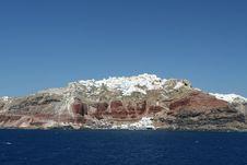 Free Cliffside Greek Village Stock Photo - 5791820