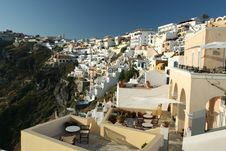 Free Famous Fira In Santorini Royalty Free Stock Photos - 5791878