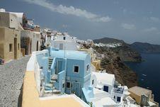 Free Beautiful Greek Village Stock Images - 5791954