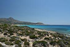 Exotic Coastal Landscape Royalty Free Stock Photography