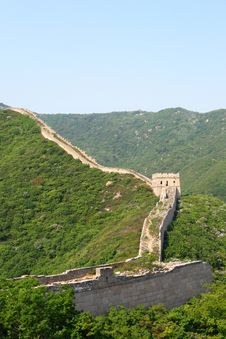 Free Great Wall Royalty Free Stock Photography - 5792537