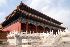Free Forbidden City Royalty Free Stock Photography - 5792997