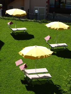 Free Relax On The Lawn Royalty Free Stock Photography - 5793227