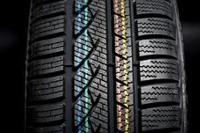 Free New Winter Tire Stock Photography - 5793322