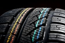 Free New Winter Tire Royalty Free Stock Photos - 5793348