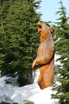 Free Bear Sculpture Royalty Free Stock Image - 5793456
