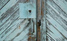 Free Blue Locked Door Royalty Free Stock Photo - 5793745