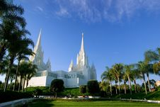 Free Mormon Temple Royalty Free Stock Image - 5794016