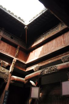 Free Hongcun Old House Royalty Free Stock Image - 5794806