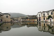 Old Houses Around Yue Zhao Stock Photo