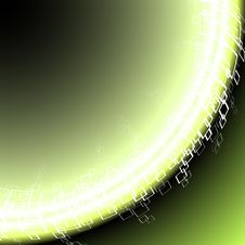 Free Fluorescent Abstract Corner Background Royalty Free Stock Photo - 5795315