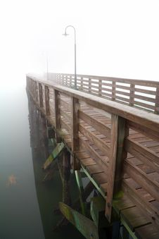 Free Foggy Pier Stock Image - 5795331