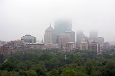 Free Rainy Boston Stock Photos - 5796793
