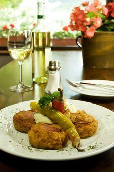 Traditional Slovak Restaurant Stock Image