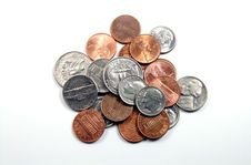 Free Group Of Coins Stock Photo - 5797400