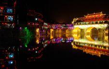 Free Chinese Bridge Royalty Free Stock Photo - 5797525