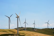 Free Windmills Royalty Free Stock Images - 5797999