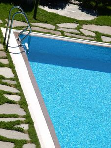 Free Ladder Of A Pool Stock Photography - 5798072