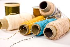 Free Nylon Threads Royalty Free Stock Photo - 5798115