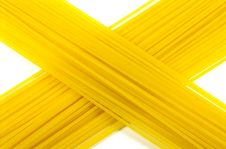 Free Dried Spaghetti Close-up Stock Images - 5798914