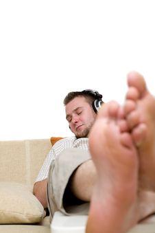 Free Enjoying Music Royalty Free Stock Photos - 5798988