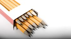 Free Sharp Pencils In Box Stock Photo - 5799020
