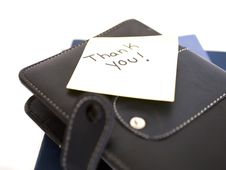 Leather File Royalty Free Stock Images