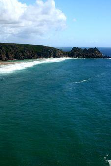 Coast In Cornwall England Royalty Free Stock Image