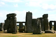 Free Stonehenge In England Cornwall Stock Photography - 5799482