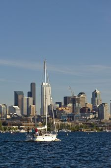Free Seattle Sailing Stock Photography - 5799592