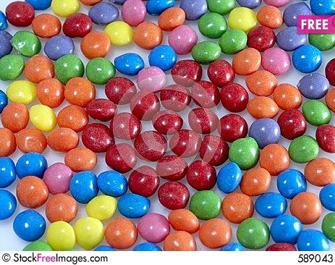 Heart Sweets Stock Photo