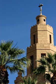 Free Church Tower Two Stock Photos - 580323