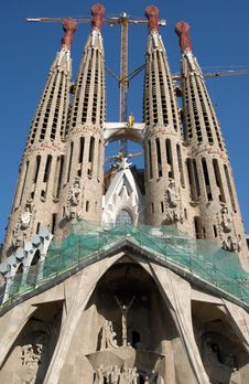 Free Sagrada Familia Stock Photography - 580332