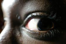 Free Beautiful Black Eye Stock Images - 580394