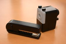 Free Stapler And Sharpener Stock Image - 581101