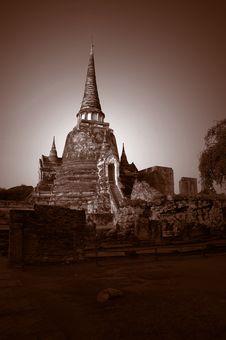 Free Wat Phra Sri Sanphet Stock Photos - 581353