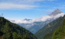 Free The Alps Royalty Free Stock Photos - 581658