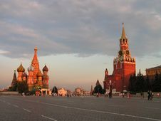 Free Moscow. The Red Area. Royalty Free Stock Image - 582056