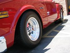 Free Red Chevy C-10 Royalty Free Stock Image - 583346