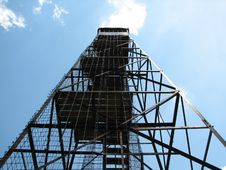 Free Up A Tower Royalty Free Stock Photo - 583355