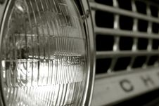 Free Abstract Shot Of Chevy Headlight Stock Photo - 583460